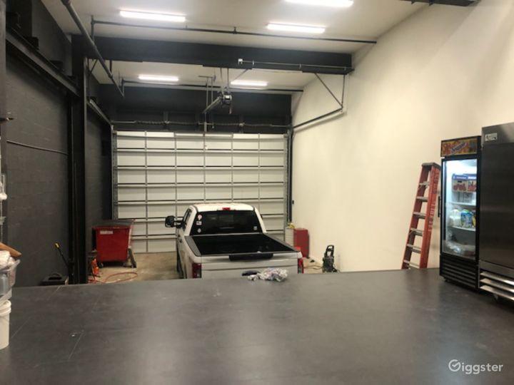 Loading Dock Availble for Filming
