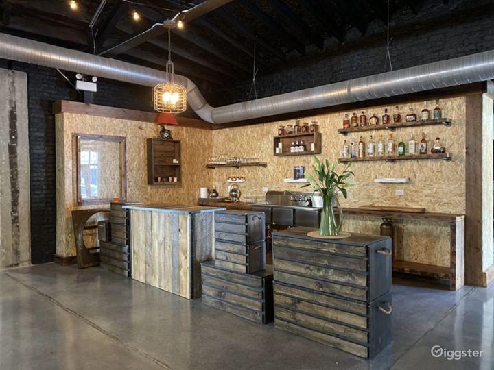 Main open space - Kitchen / Service Bar area 01