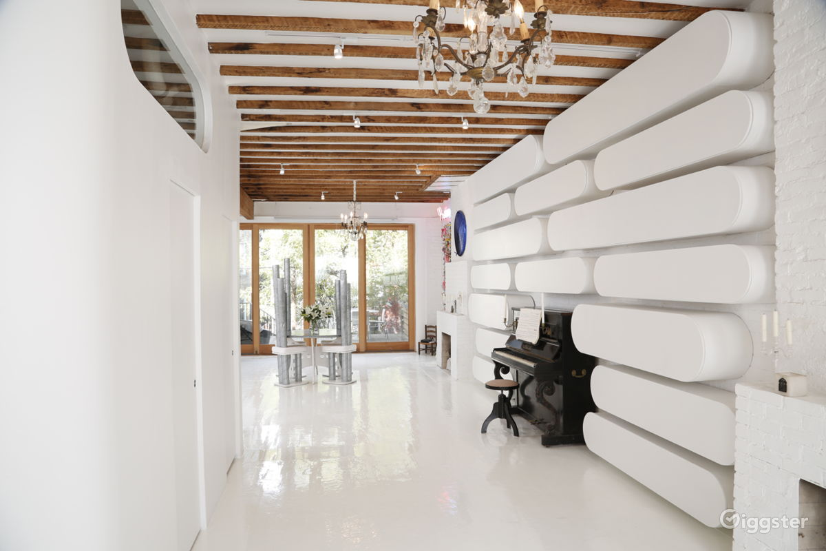 Rent Triplex With Glass Deck Terrace + Natural Pond House ...