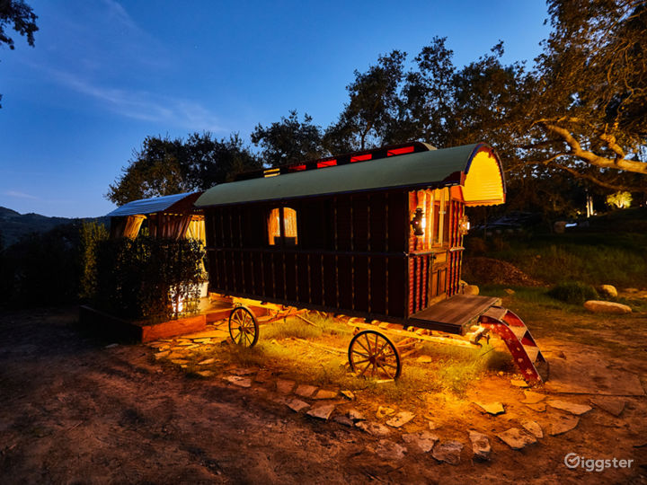 The Gypsy Wagon Compound in Topanga with Views Photo 4