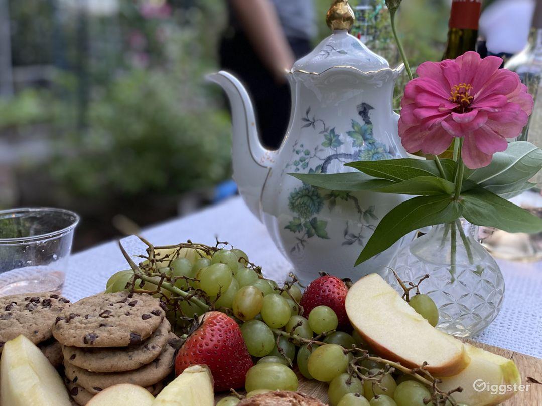 hello brunch or garden party