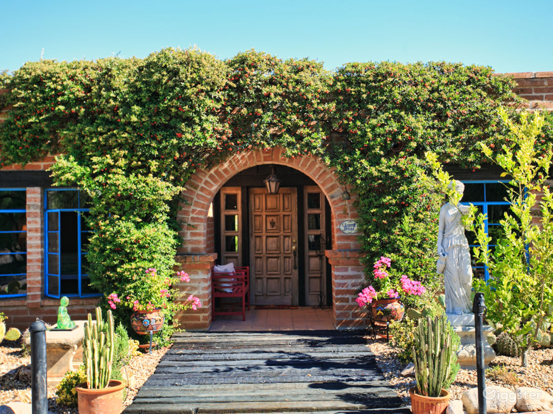 Scarritt House Main Entrance