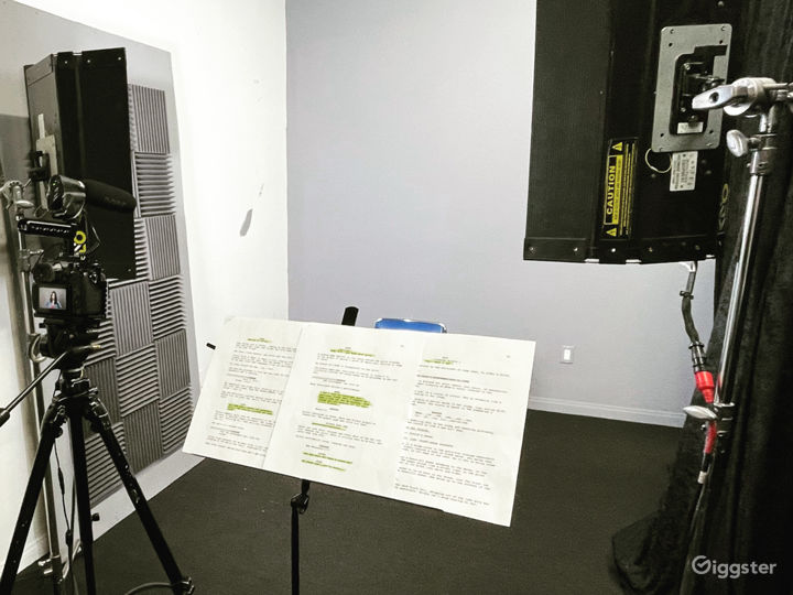 Studio A, slate and audition recordings... and more