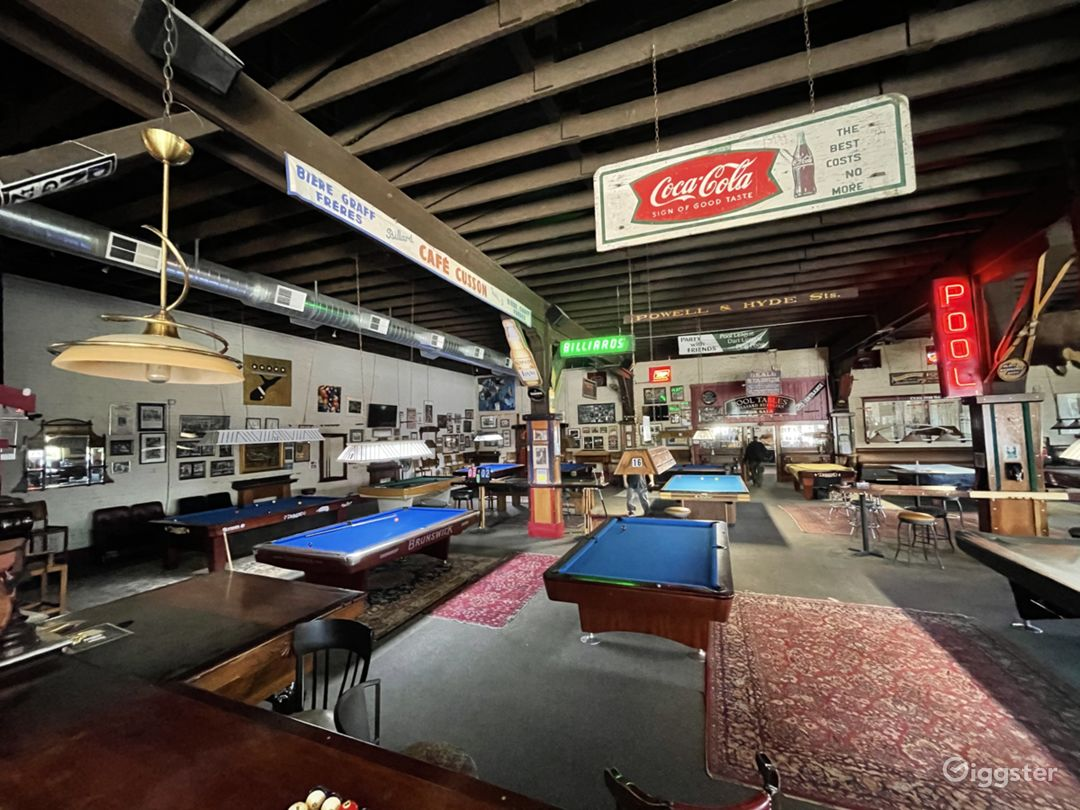 A unique pool hall that's warm, friendly and inviting to all.