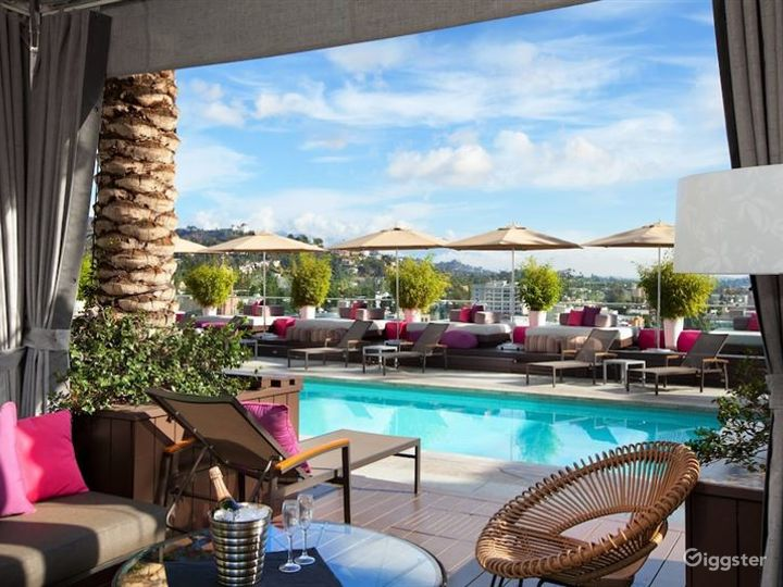 Rooftop with Pool & Lounge  Photo 3
