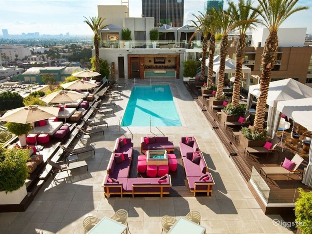 Rooftop with Pool & Lounge  Photo 1