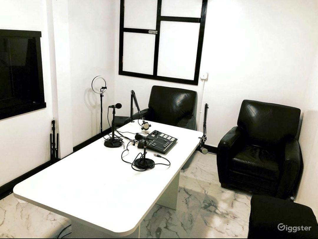 Podcast Room Photo 1