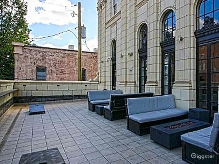 Rooftop Terrace overlooking Downtown Birmingham  Photo 4