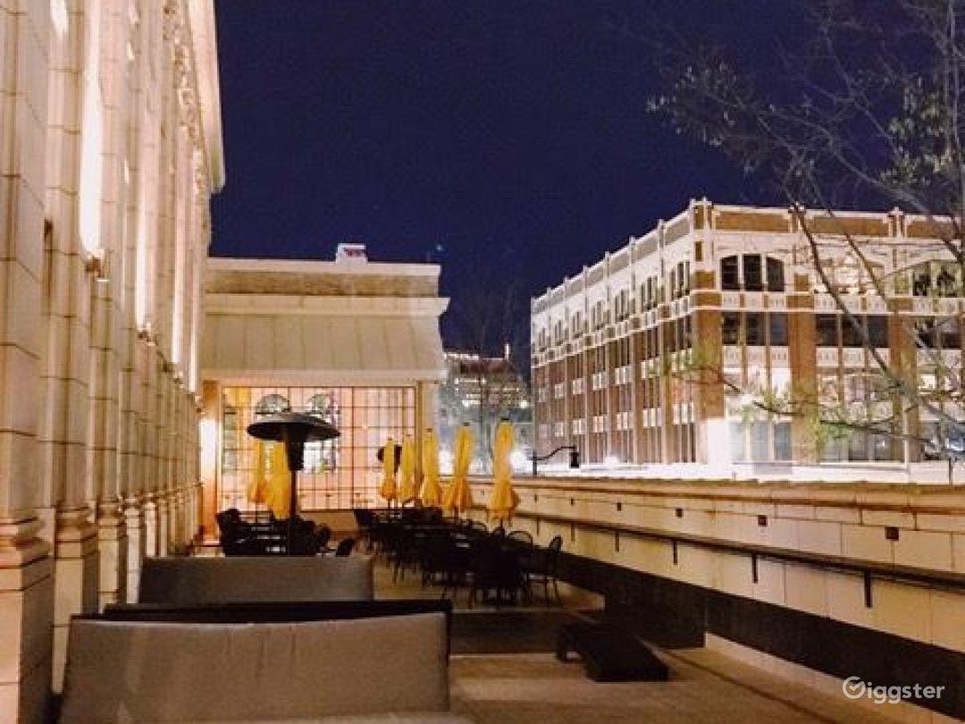 Rooftop Terrace overlooking Downtown Birmingham  Photo 1
