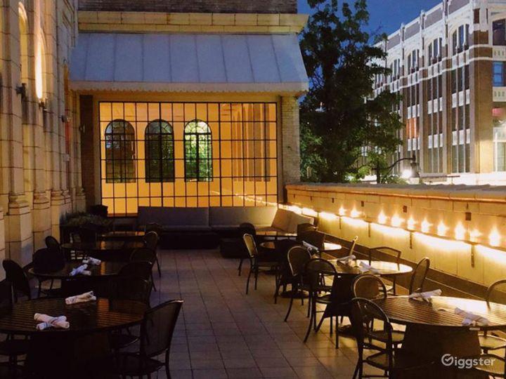 Rooftop Terrace overlooking Downtown Birmingham  Photo 2