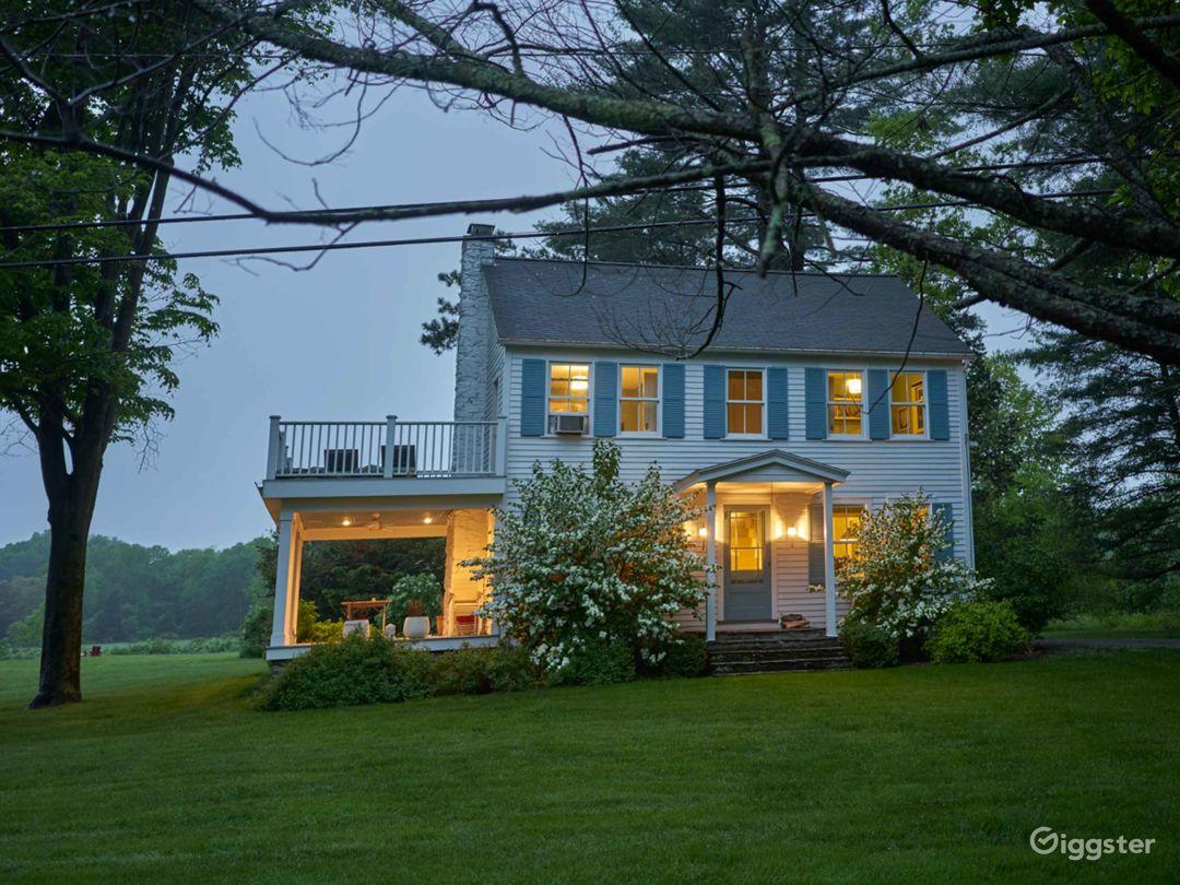 Charming Colonial house, bucolic farm setting Photo 5