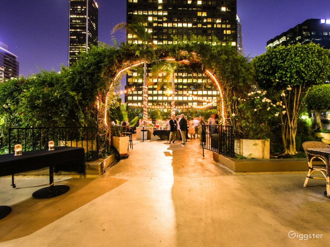 Rooftop Restaurant Event Venue in DTLA Photo 1