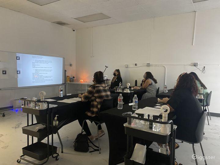 Spacious Beauty Classroom & Gatherings