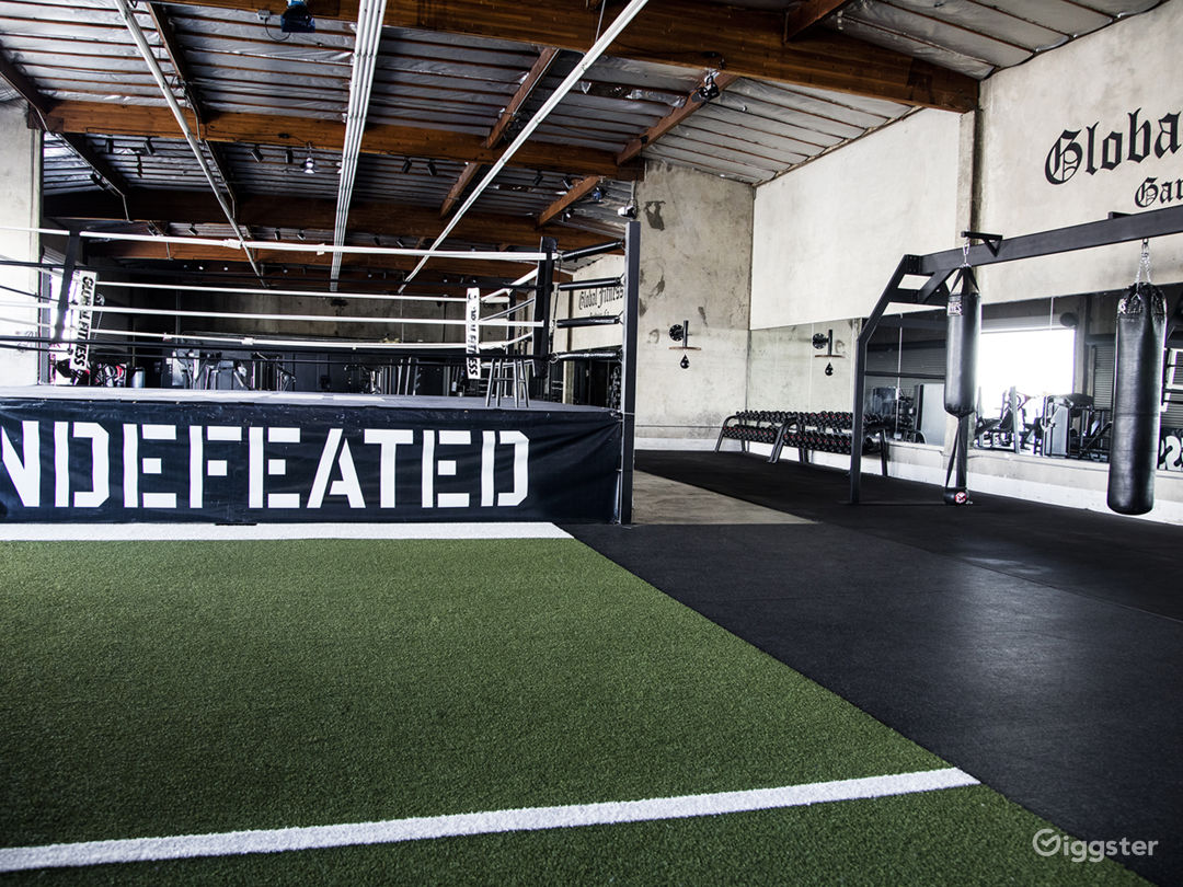 Private Gym with Boxing Ring - 10,000 SF Photo 2