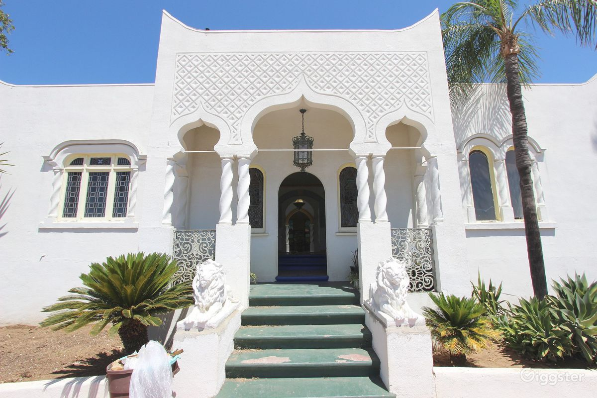 The House Mansion Or Estate Residential Dogtown Moroccan For Film