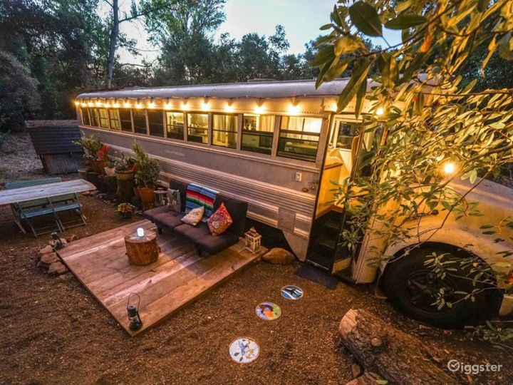 6493 Funky Multi-look Property with School Bus RV