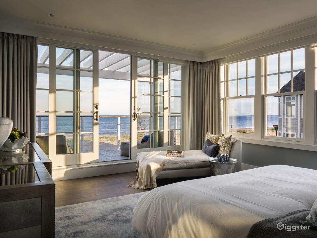 Magnificent Beachfront Home: Location 5143 Photo 1