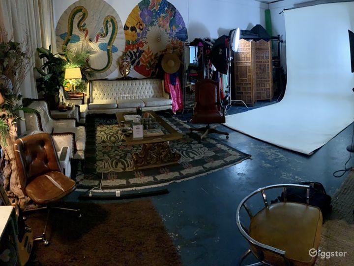 Unique Creative Space – DTLA Warehouse Loft Studio Photo 5