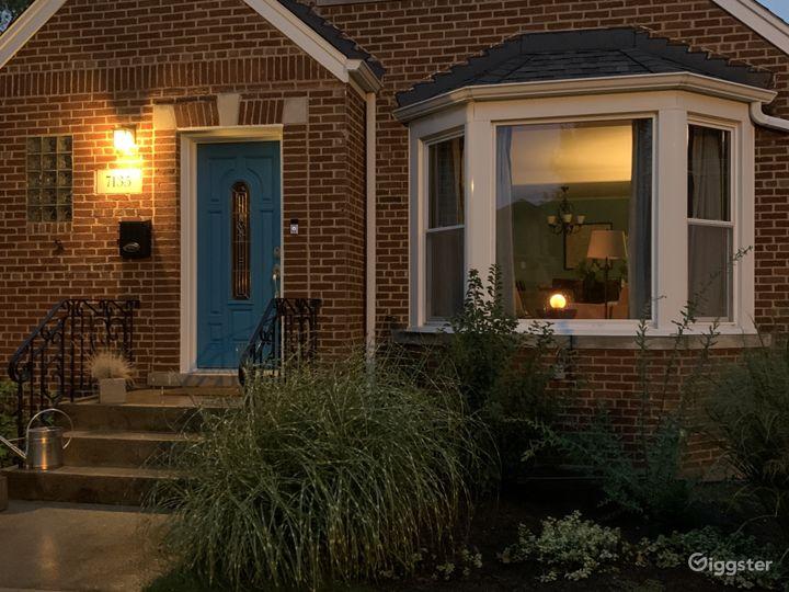 Front door - twilight hour
