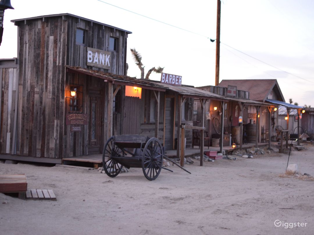 Old West Western Style Cowboy Town Photo 3