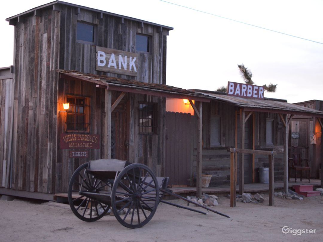 Old West Western Style Cowboy Town Photo 5