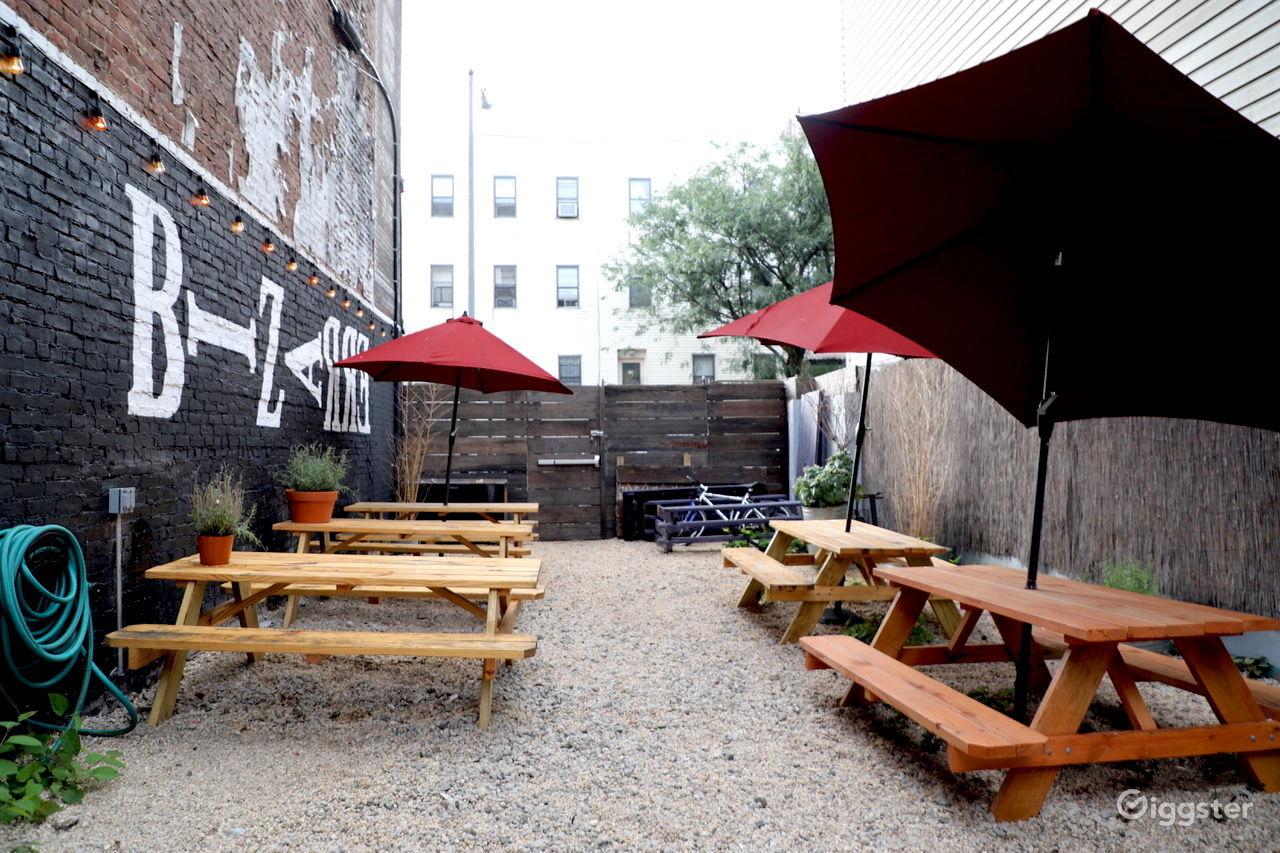 Historical Bar & Restaurant with Outdoor Patio near Bushwick New York Rental