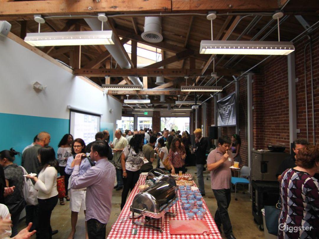 Modern Santa Monica Event Space w/ Exposed Brick Photo 1