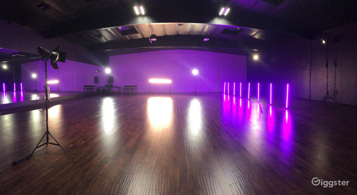 Rent creative dance studio production space dance fitness gym