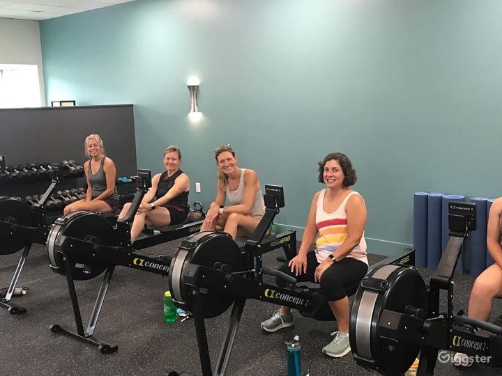Cozy Cycling, Rowing, Cross-Training Studio Space Photo 4