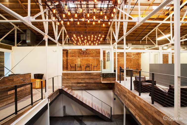 Rent The Office(commercial) Industrial Brick Wall Cubicle Office Space For  Filming/photo