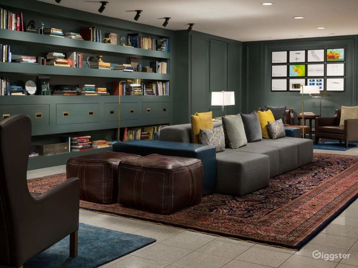 Private Library in Luxurious Nob Hill Hotel
