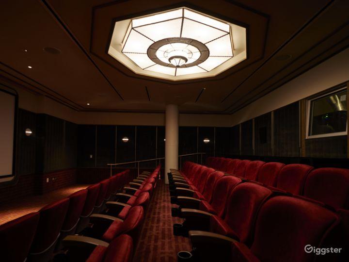 Full Service Cinema space