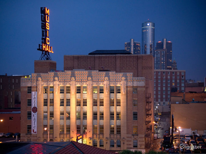 Historic Theater, Jazz Cafe and rooftop nightclub