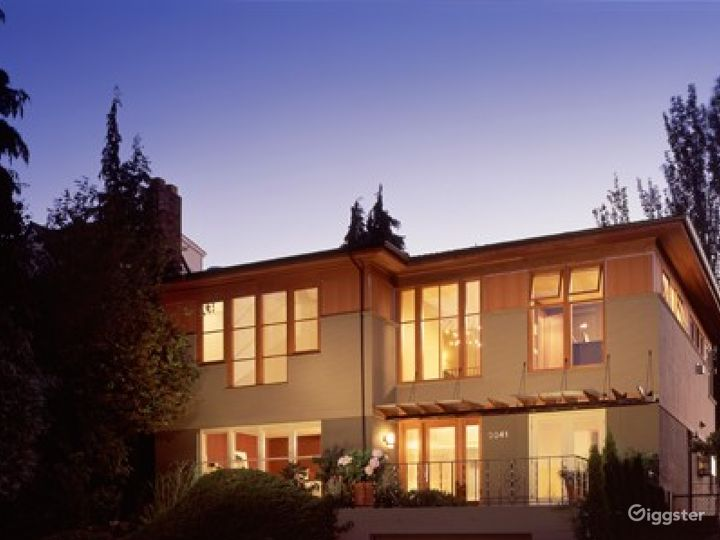 Sunset Magazine featured NW contemporary view home