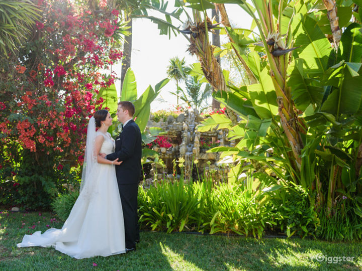 Magical Garden with Palm Trees Photo 3
