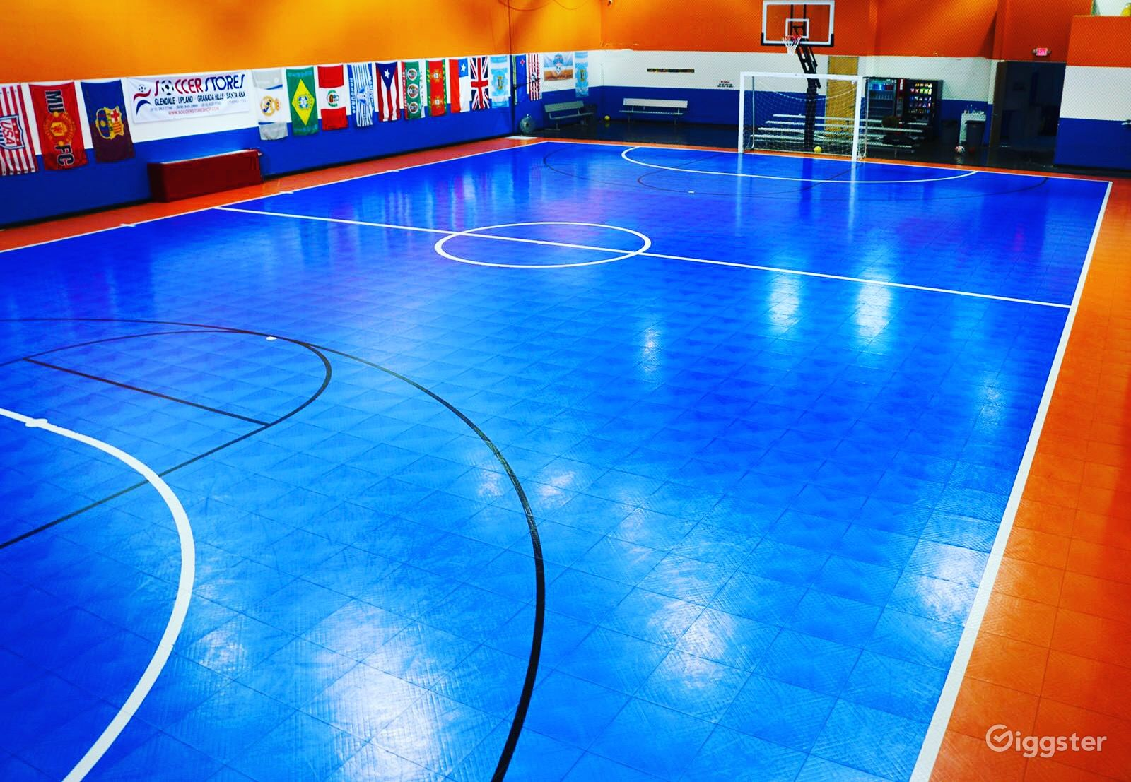 Northridge Futsal Indoor Soccer Basketball Venue Rent This Location On Giggster