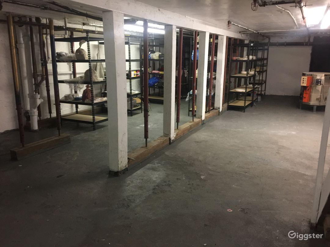 Basement - Warehouse