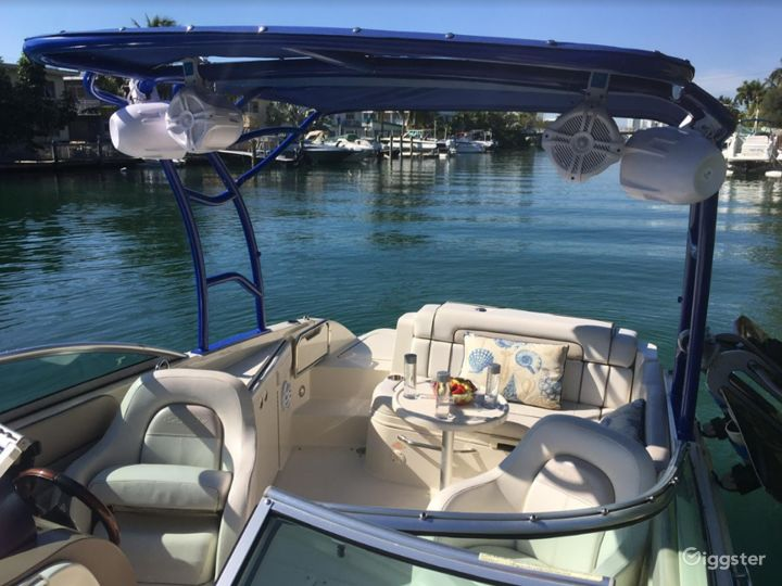 Homey 26FT Sea Ray Pelican Party Boat Space Events Photo 3