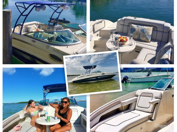 Homey 26FT Sea Ray Pelican Party Boat Space Events Photo 4
