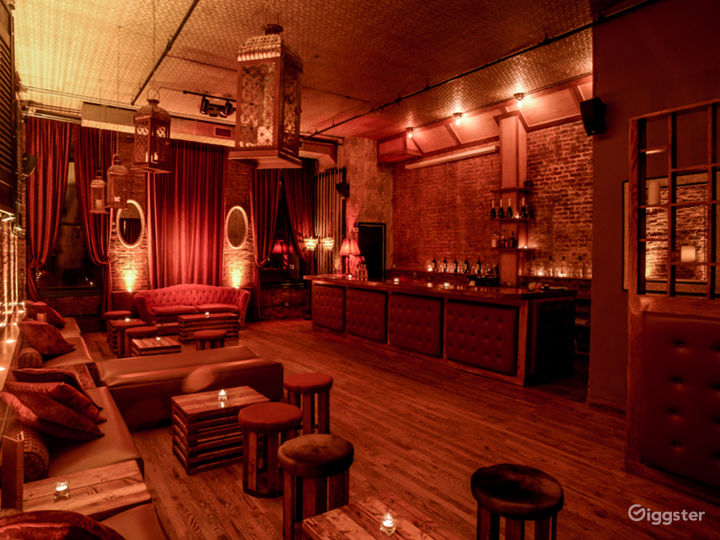Luxurious Williamsburg Bar, Lounge, & Event Space