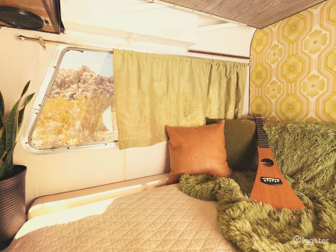The Apollo // Vintage 70's Camper in Joshua Tree Photo 2