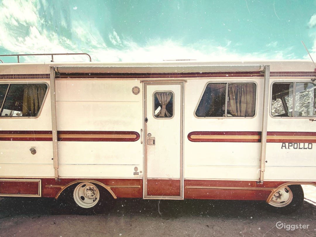 The Apollo // Vintage 70's Camper in Joshua Tree Photo 1
