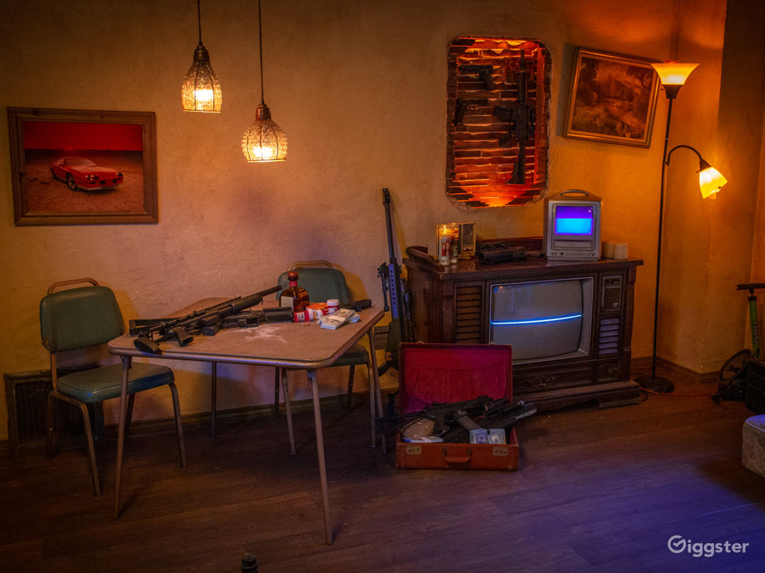 Grungy Trap House Apartment Set | CreatorLA Photo 1