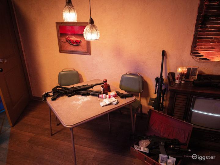 Grungy Trap House Apartment Set | CreatorLA Photo 5