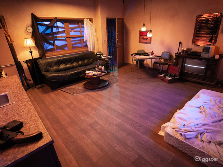 Grungy Trap House Apartment Set | CreatorLA Photo 2