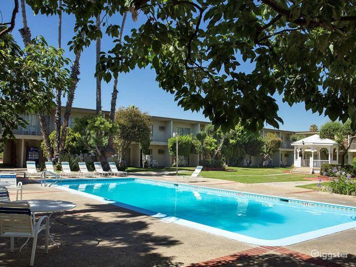 Elegant Courtyard Gazebo with a Pool view Photo 2