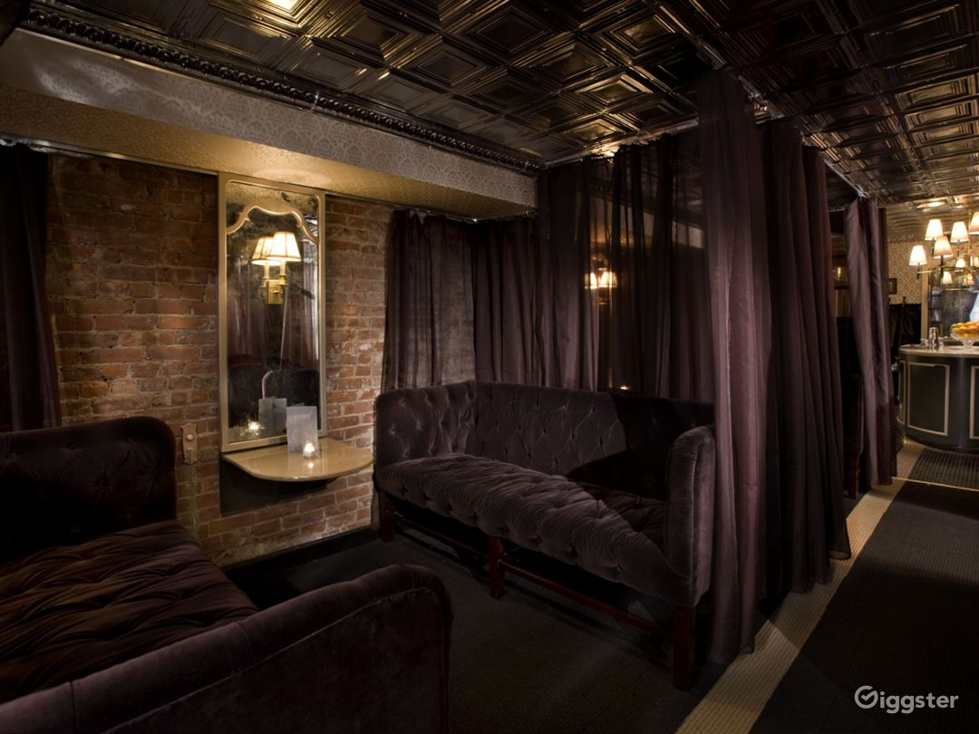 Elegant Speakeasy Bar for shoots and events Photo 2