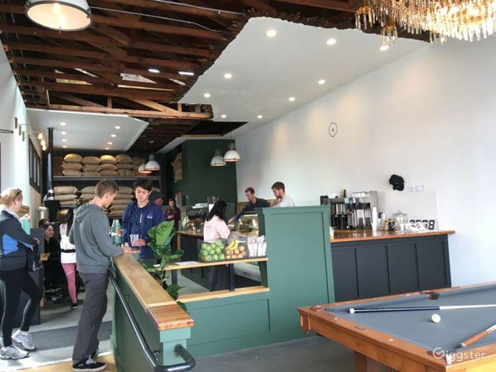 Modern but Old School Coffee Shop Photo 4