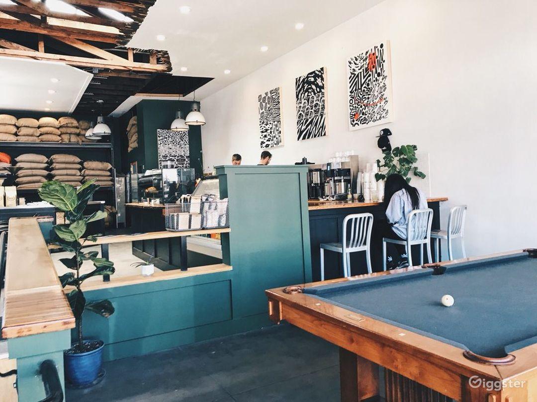 Modern but Old School Coffee Shop Photo 1