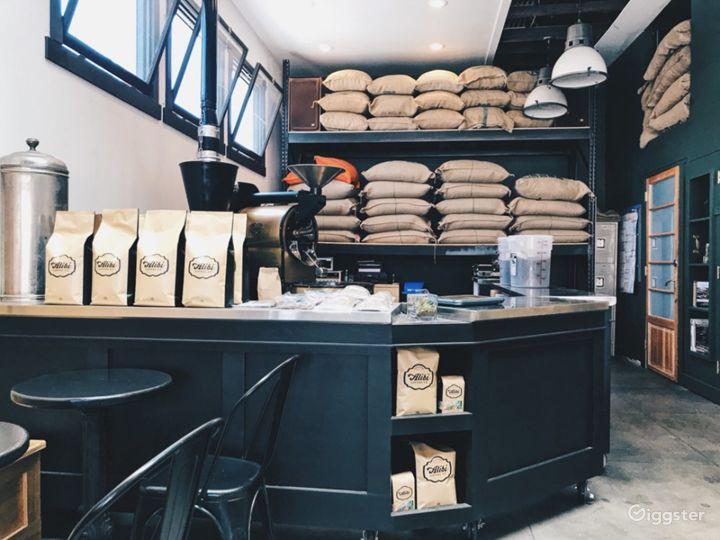 Modern but Old School Coffee Shop Photo 3